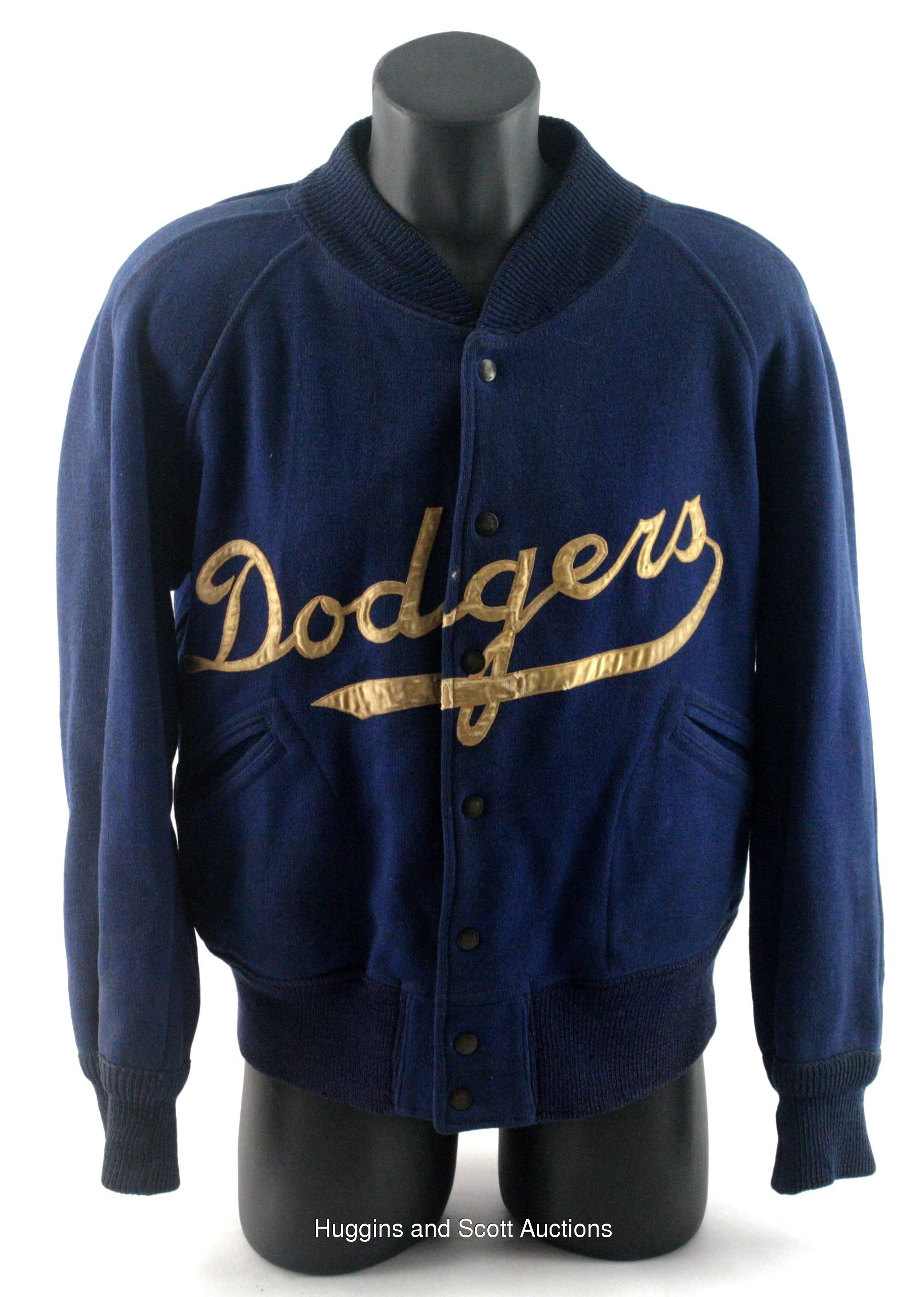 1940s 1950s Brooklyn Dodgers Game Worn Jacket
